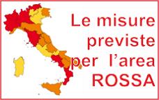 Le misure previste per l'area ROSSA