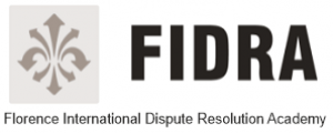 Logo del progetto FIDRA - Florence International Dispute Resolution Academy