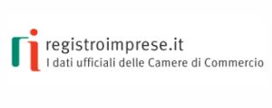 banner per accedere al sito del Registro delle Imprese - I dati ufficiali delle Camere di commercio
