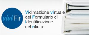 logo del nuovo servizio per la vidimazione virtuale del formulario di identificazione del rifiuto