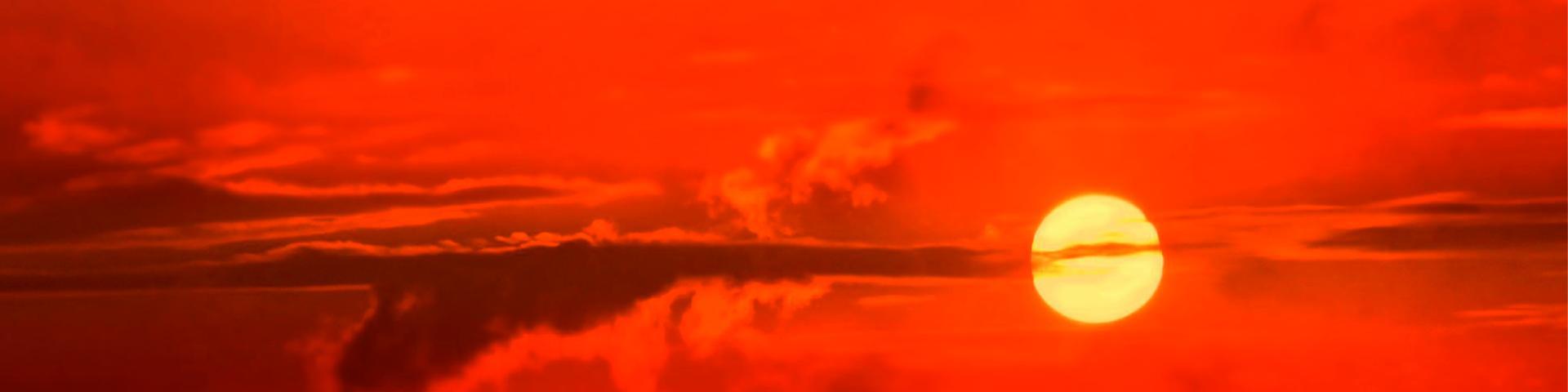Immagine del tramonto