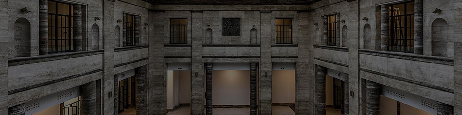 Il salone della Borsa Valori della Camera di Commercio di Firenze