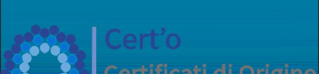 logo del servizio per i certificati di origine